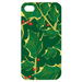 green leaf Custom Case for iPhone 4,4S