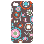 nice pattern 4 Custom Case for iPhone 4,4S