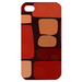 red brick Custom Case for iPhone 4,4S