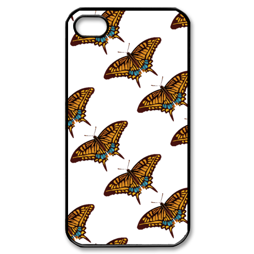 butterfly Custom Case for iPhone 4,4S