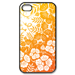 flower Custom Case for iPhone 4,4S  