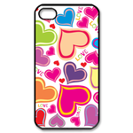 heart Custom Case for iPhone 4,4S  