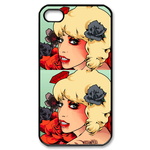 Lady Gaga iPhone 4, 4s case Custom Case for iPhone 4,4S