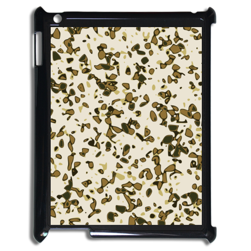 IPad 2 Case Custom & Personalized Green Camouflage Case for IPad 2