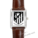 Leather Watches Madrid Square Leather Alloy High-grade  Watch