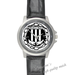 Leather Watches racing Black Leather Alloy High-grade Watch