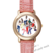 Leather Watches Girls'Generation Pink Leather Alloy High-grade Watch