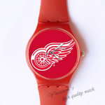 Plastic Watches Angle's wing Custom classic  photo watch