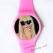 Plastic Watches Lady Gaga Custom ladies plastic watch