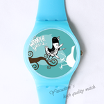 Plastic Watches singing bird Custom classic  photo watch