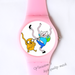 Plastic Watches Dancing animal Custom classic  photo watch