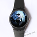 Plastic Watches Lady Gaga at midnight Custom ladies plastic watch