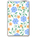 Blue&Yellow Flowers Hard Cover Case for Kindle Fire