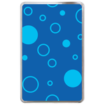 Bubbles in the Bottom of the Sea Hard Cover Case for Kindle Fire