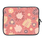 ipad 2 sleeve  classical red floral Two Sides Sleeve for Ipad 2