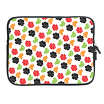 ipad 2 sleeve  classical colorful floral Two Sides Sleeve for Ipad 2