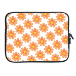 ipad 2 sleeve  orange floral Two Sides Sleeve for Ipad 2