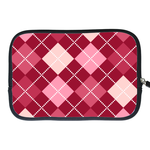 kindle fire sleeve  red grid Two Sides Sleeve for Kindle Fire