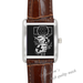 Leather Watches hands Square Leather Alloy High-grade  Watch