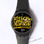Plastic Watches afflictive by nature Custom classic  photo watch