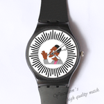 Plastic Watches doctor Custom classic  photo watch