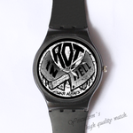 Plastic Watches in hell Custom classic  photo watch