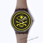 Plastic Watches no sleep Custom classic  photo watch