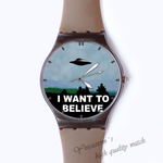 Plastic Watches UFO Custom classic  photo watch