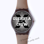 Plastic Watches cuerilla crew Custom classic  photo watch