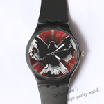 Plastic Watches killed Angle Custom classic  photo watch