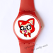 Plastic Watches excited Ali Custom classic  photo watch