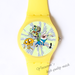 Plastic Watches happy animals Custom classic  photo watch