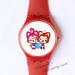 Plastic Watches Ali couple Custom classic  photo watch