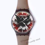 Plastic Watches converge Custom classic  photo watch