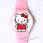 Plastic Watches cute Kitty Custom classic  photo watch
