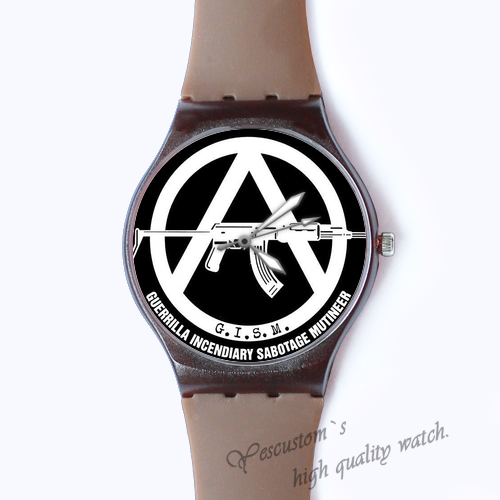 Plastic Watches GISM Custom classic  photo watch
