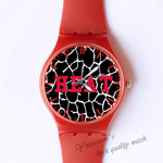 Plastic Watches heat Custom classic  photo watch