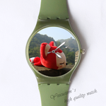 Plastic Watches lonely Ali doll Custom classic  photo watch