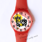 Plastic Watches new day Custom classic  photo watch