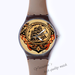 Plastic Watches pirate ship Custom classic  photo watch