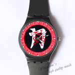 Plastic Watches red dragon Custom classic  photo watch
