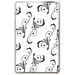 White Valentine's Day Hard Cover Case for Kindle Fire