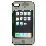 Simple Beige Gameboy Custom Custom Case for iPhone 4,4S