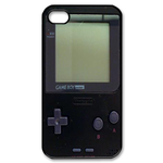 Deep Black Gameboy Custom Custom Case for iPhone 4,4S