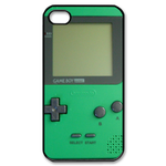 Green & Black Gameboy Custom Custom Case for iPhone 4,4S