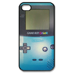 Fresh Blue Gameboy Custom Custom Case for iPhone 4,4S