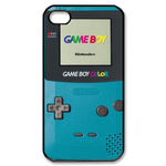 Turquoise Gameboy Custom Custom Case for iPhone 4,4S