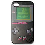 Light Grey & Pink Gameboy Custom Custom Case for iPhone 4,4S