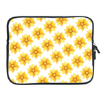 ipad 2 sleeve personalized yellow floral Two Sides Sleeve for Ipad 2