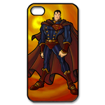 iPhone 4S case cartoon superman Custom Case for iPhone 4,4S